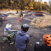 Gateway Green's new pump track is open for business