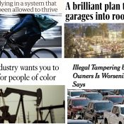 The Monday Roundup: Toxic trucks, tragic bike deliveries, Big Oil's concern trolling, and more