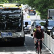 Portland continues 'Rose Lane' transit push amid ridership decline, electoral shift
