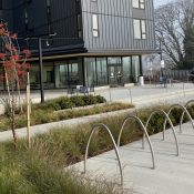 Bike Parking Review: Renaissance Commons in Kenton