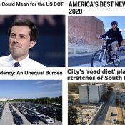 The Monday Roundup: Best bikeways, judging Buttigieg, brazen theft, and more