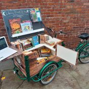 Portland business finds niche building book bikes