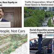 The Monday Roundup: Traffic evaporation, mobility lanes, solar-powered helmet light, and more