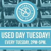 Used Day Tuesdays