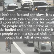 Comment of the Week: Bicycling's many contradictions