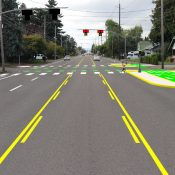 PBOT ready to restripe outer NE Glisan with new bike lanes