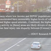 Oregon DOT shares first-ever internal research on how race and income impact road safety