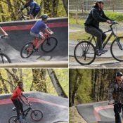 Gateway Green attracts a diverse cross-section of bike riders