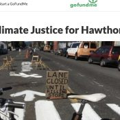Activist wants to sue PBOT over Hawthorne Blvd bike lane decision