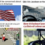 The Monday Roundup: Drivers vs protestors, biking while Black, promenade promises, and more