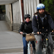 CDC: Vaccinated people can bike outdoors without masks
