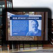 Gideon Overcrossing has been renamed in honor of Metro Councilor Bob Stacey