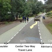 Advisory shoulders could unlock potential of streets in southwest Portland