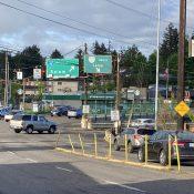 Car-centric jughandle, but no bike lanes through Barbur Crossroads?