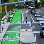 Get excited about the North Greeley bikeway project as it nears completion
