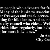 PBOT Commissioner has revealing, heated exchanges with bicycle advisory committee members