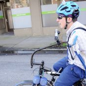 Armless rider Michael Trimble launches GoFundMe to help pay for bike repairs
