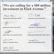 $80 million request for 82nd Avenue ups urgency for action