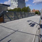 The new Flanders Crossing Bridge will open in nine days