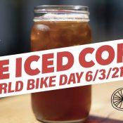 Free Iced Coffee on World Bike Day