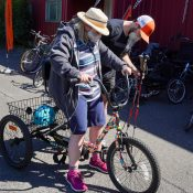 Adaptive Biketown makes cycling with Parkinson's possible