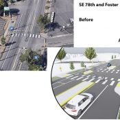 $4.5 million 70s Neighborhood Greenway project headed to bid, will be built this fall