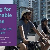 Cycling for Sustainable Cities Webinar