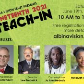Albina Vision Juneteenth Teach-in Workshop