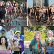 Hundreds roll to honks of approval on Portland's 'loud and proud' Rainbow Ride