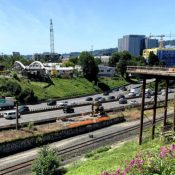 Carfree Blumenauer Bridge over I-84 will be installed July 9th - UPDATED
