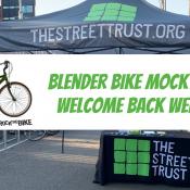 Blender Bike @ Welcome Back Weekend