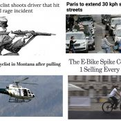 The Monday Roundup: Protected bike lanes work, Amazon commute benefits, bike rider packing heat, and more