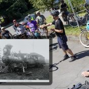 Pedalpalooza ride retraces route of first train to St. Johns