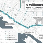 Key stretch of Willamette Blvd poised for 10-foot protected bike lanes, $6 million in upgrades