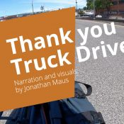 Video: Thanks Truck Driver! (When the safest way to pass is to not pass)