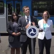 DeFazio, Buttigieg tout electric cars, bikes, and warn of 'existential threat' of climate change at Eugene event