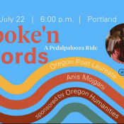 Join a Pedalpalooza ride with Oregon's Poet Laureate