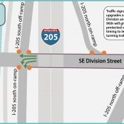 Stressful section of SE Division will get wider bike lanes, safer turns