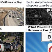 The Monday Roundup: Berlin bikenomics, low-car Boston, freeway expansion realities, and more