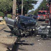 Life-threatening car crash on NE Glisan ups urgency for safety project