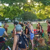 A Unity Ride recap and thoughts on respecting bodies in public spaces