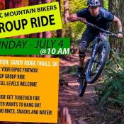 BIPOC Mountain Bikers Group Ride!