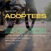 Adoptees of Color Bike Ride