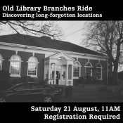 Old Library Branches Ride