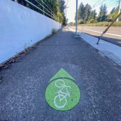 East Portland bicycle infrastructure ride