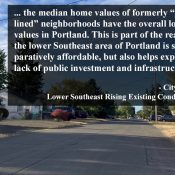 New PBOT planning effort aims to address historic lack of investment in lower southeast