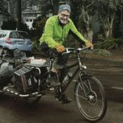Tired of trash, this retired IT pro has launched a bike-powered clean-up effort