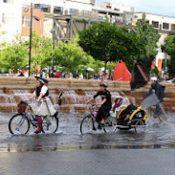 Splish, Splash it's a Wet, wet Portland Ride #2!