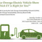 Lake Oswego EV Show