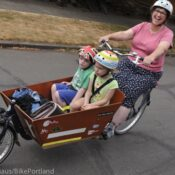 Family Biking: 'Bakfiets' cargo bikes for special needs